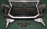 Тюнинг бампер на Lexus LX570 2007-2015г. стиль 2019г. TRD Superior