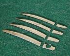 Хром накладки на ручки дверей для Toyota и Daihatsu, металл, мод.2