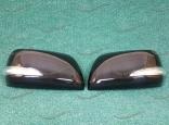 Корпуса зеркал на Lexus LX570 2007-2011г. как на рестайлинге, черные