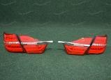 Диодные тюнинг стоп сигналы на Toyota Camry 55 с 2015г. красные