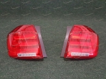 Диодные тюнинг стоп сигналы на Toyota Highlander 2010-2013г. красные