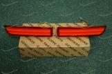 Неоновые катафоты в задний бампер на Toyota мод.2 (372)  красные