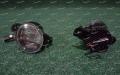 Туманки диодные черные на авто Nissan модель 2