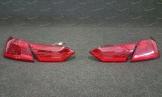 Стопы на Toyota Camry 70 стиль Lexus без хрома с 2018г. красные