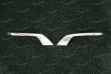 Хром накладки на уши в стиле Executive на Toyota Land Cruiser 200 с 2016г.