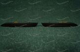 Диодные катафоты (382) в задний бампер на Honda дымчатые