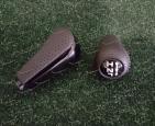 Ручка автомата + раздатки на Toyota Land Cruiser Prado 120 черная