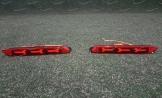 Неоновые катафоты в задний бампер на Toyota стиль Ламбо