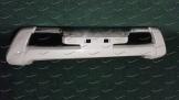 """""""Дуга"""" накладка на бампер на Toyota Land Cruiser Prado 150  с 2013г. белая (перламутр)"""