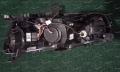Тюнинг фары линзовые на Mitsubishi Lancer 2006-2016г. черные