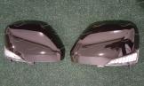 Корпуса зеркал с поворотником на Nissan Patrol 62 черные