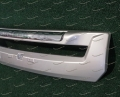 """""""Дуга"""" накладка на бампер на Toyota Land Cruiser 200 2012-2015г. серебристая"""
