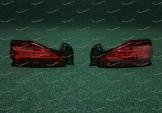 Неоновые катафоты в бампер на Toyota Fortuner мод.1
