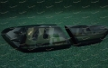 Тюнинг стоп сигналы на Toyota Camry 70 в стиле GS с 2018г. дымчатые