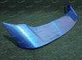 Спойлер на Mitsubishi Lancer 2006-2016г. синий