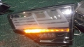 Тюнинг стоп сигналы на Toyota Highlander 2013-2017г. стиль Lexus дымчатые