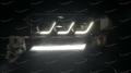 Фары  Toyota Land Cruiser 200  2016-2020г.  3 линзы стиль Lexus