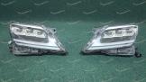 Фары с 3 линзами на Lexus LX570 2012-2015г в стиле 2021г.