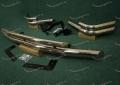 Передняя и задняя дуги на Toyota Land Cruiser Prado 120, металл