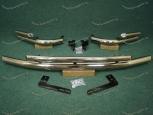Передняя и задняя дуги на Toyota Land Cruiser Prado 150, металл