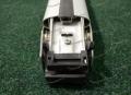 Поперечные рейлинги на Nissan X-Trail 32 серебристые